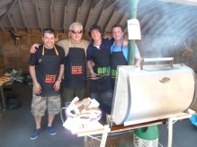 Barbeque team